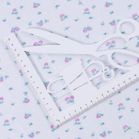 Ткань на отрез фланель 80 см 19720 Грибы цвет розовый фото