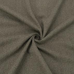 Ткань на отрез кашемир елочка цвет табачный фото