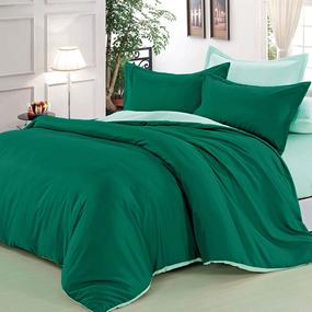 Полисатин гладкокрашеный 220 см цвет 18-0108 зеленый фото