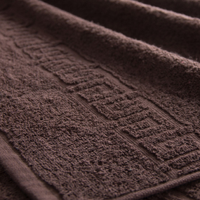 Полотенце махровое Туркменистан 40/70 см цвет коричневый Brownie фото