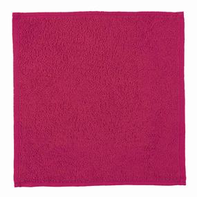 Салфетка махровая цвет 108 брусника 30/30 см фото