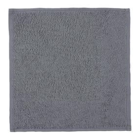 Салфетка махровая цвет 910 серый 30/30 см фото