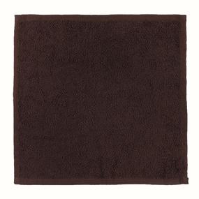 Салфетка махровая цвет 915 горький шоколад 30/30 см фото