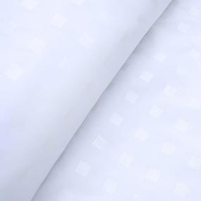 Ткань на отрез Тик 220 см 145 +/- 5 гр/м2 3F/603 цвет белый фото