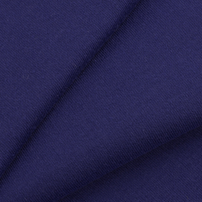 Ткань на отрез кулирка М-2053 цвет фиолетовый фото