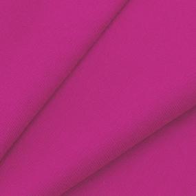 Ткань на отрез кулирка 4408-1 цвет малиновый фото