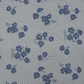 Ткань на отрез кулирка Василёк 2286-V2 цвет серый фото
