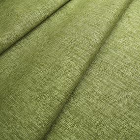 Ткань на отрез Blackout лен 91/20 цвет зеленый фото