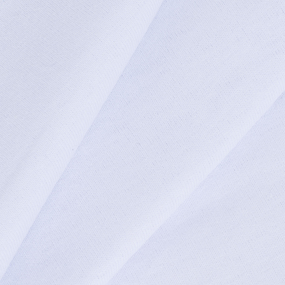 Ткань на отрез кулирка цвет белый фото