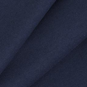Ткань на отрез кулирка цвет индиго фото