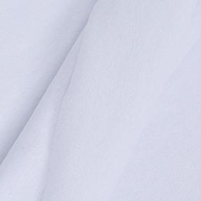 Ткань на отрез рибана с лайкрой цвет белый фото