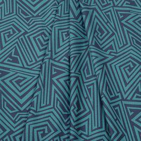 Ткань на отрез поплин 220 см 12220/1 Амур компаньон фото