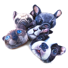 Декоративная подушка Животные с эффектом 3D фото