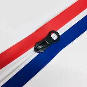 Молния спираль №7 разьем 65см водостойкая триколор фото