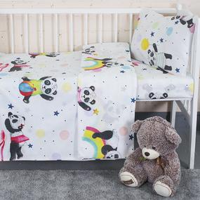 Постельное белье в детскую кроватку 13092/1 перкаль фото