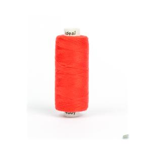 Нитки бытовые IDEAL 40/2 366м 100% п/э, цв.156 красный фото