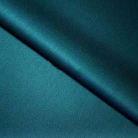 Ткань на отрез сатин гладкокрашеный 245 см 213KL-026 цвет изумруд фото
