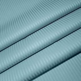 Ткань на отрез Страйп сатин полоса 0,3х0,3 см 240 см 135 гр/м2 KL-4(506) цвет мята фото