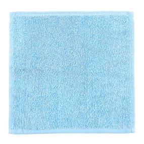 Салфетка махровая цвет 502 ярко-голубой 30/30 см фото