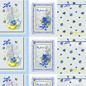 Рогожка 150 см 11091/1 Виола полотенце фото