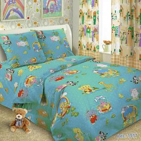Бязь 100 гр/м2 150 см ТР 1517/2 цвет голубой фото