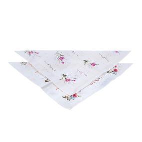 Платки носовые женские волнистые 45458Т10 шт фото