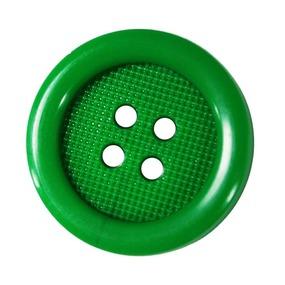 Пуговицы РП-20 4-х прокол 20 мм 50900 цвет 3111зеленый упаковка 24 шт фото