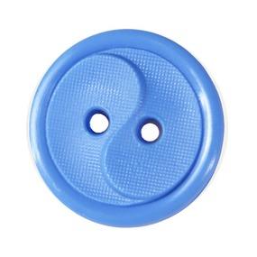 Пуговицы РП-14 2-х прокол 14 мм 51800 цвет голубой упаковка 100 шт фото
