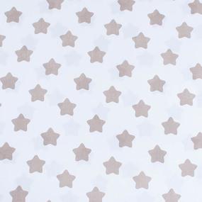 Маломеры бязь плательная 150 см 1737-А/18 цвет кофе 1 м фото