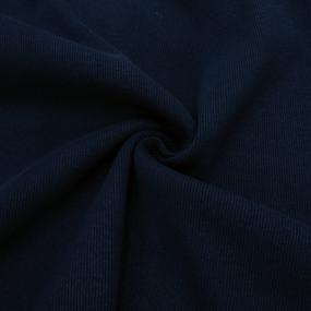 Ткань на отрез кашкорсе 3-х нитка с лайкрой цвет синий фото
