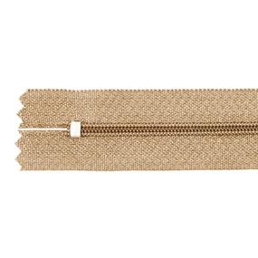 Молния пласт юбочная №3 20 см цвет песочный фото