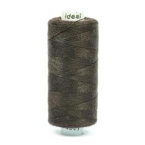 Нитки бытовые Ideal 40/2 100% п/э 549 коричневый фото