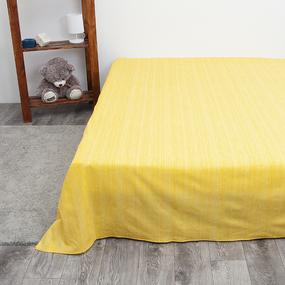 Простыня перкаль 2049311 Эко 11 желтый 1.5 сп фото