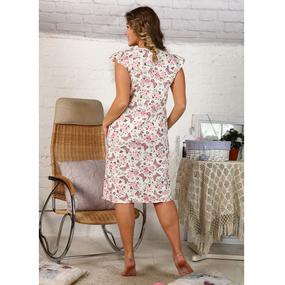 Сорочка женская Татьянка (большие размеры) кулирка размер 48 фото
