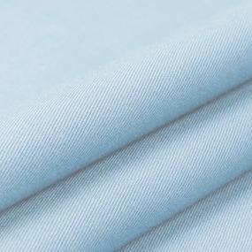 Ткань на отрез сатин гладкокрашеный 160 см 409 цвет голубой фото