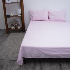 Простыня поплин Розовый 2-х сп фото