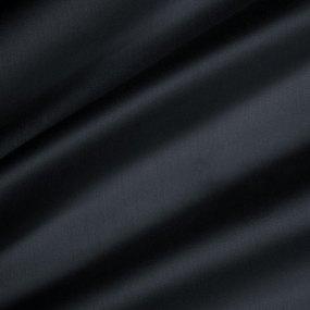 Ткань на отрез сатин гладкокрашеный 240 см 86650/13 цвет черный фото