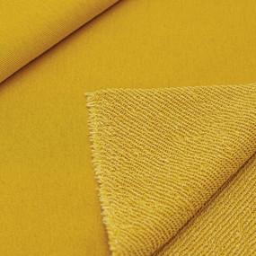 Маломеры футер 3-х нитка диагональный цвет горчичный 4 м фото