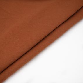 Ткань на отрез футер 3-х нитка диагональный цвет карамель фото