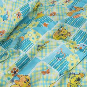 Детское постельное белье из бязи 1.5 сп 1427 Белки фото