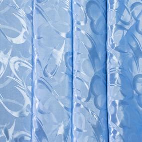 Маломеры Портьерная ткань 150 см 17 цвет голубой 3 м фото