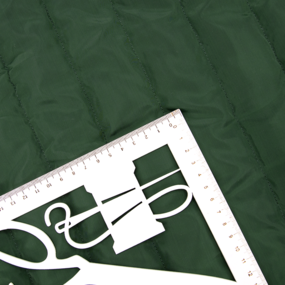Курточная ткань на отрез цвет зеленый фото