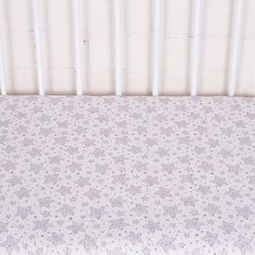 Простыня трикотажная на резинке Премиум Звезда 1309-V3 60/120/12 см фото