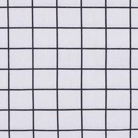 Маломеры лен TBY-DJ-24 Клетка цвет серый 0.9 м фото