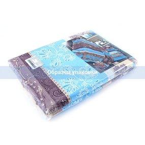 Постельное белье из бязи 304/1 Ажур голубой 1.5 сп с 1-ой нав. 70/70 фото