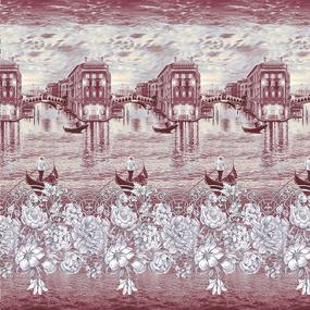 Перкаль 220 см набивной арт 239 Тейково рис 6767 вид 1 Гранд фото