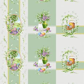Рогожка 150 см 11569/1 Весна фото