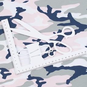 Ткань на отрез футер кардная петля Камуфляж R4015-V20 фото
