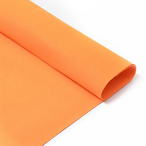 Фоамиран в листах 1 мм 50/50 см уп 10 шт MG.N028 цвет оранжевый фото