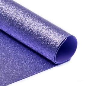 Фоамиран глиттерный 2 мм 20/30 см уп 10 шт MG.GLIT.H015 цвет светло-сиреневый фото